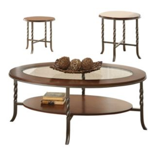 Vance Coffee Table & End Table 3-piece Set