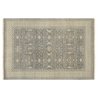 Couristan Tenali Bijnor Framed Ornate Wool Rug