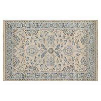 Couristan Tenali Korba Framed Floral Wool Rug