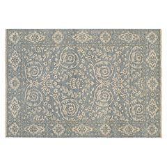 Couristan Tenali Latur Framed Floral Wool Rug