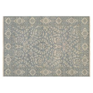 Couristan Tenali Latur Framed Floral Wool Rug
