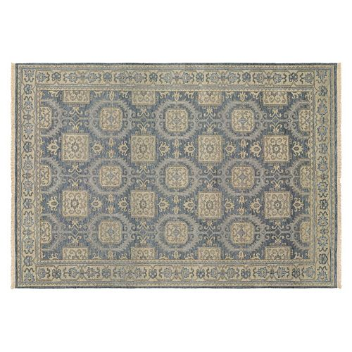 Couristan Tenali Hapur Framed Medallion Wool Rug