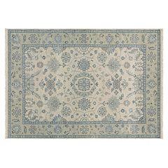 Couristan Tenali Sanduru Framed Floral Wool Rug