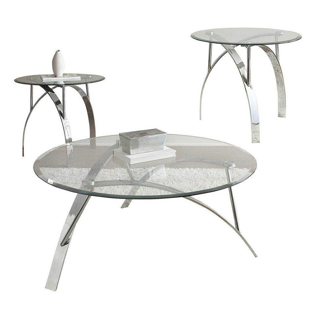 Xavier Coffee & End Table 3-piece Set