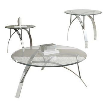 Xavier Coffee & End Table 3-piece Set