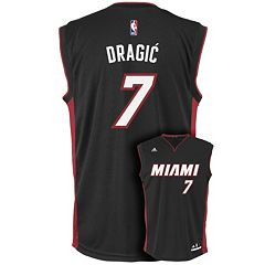 Men's adidas Miami Heat Goran Dragic Replica Jersey
