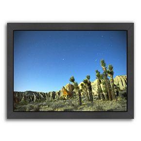 Americanflat ''Death Valley Moon Glow 2'' Framed Wall Art