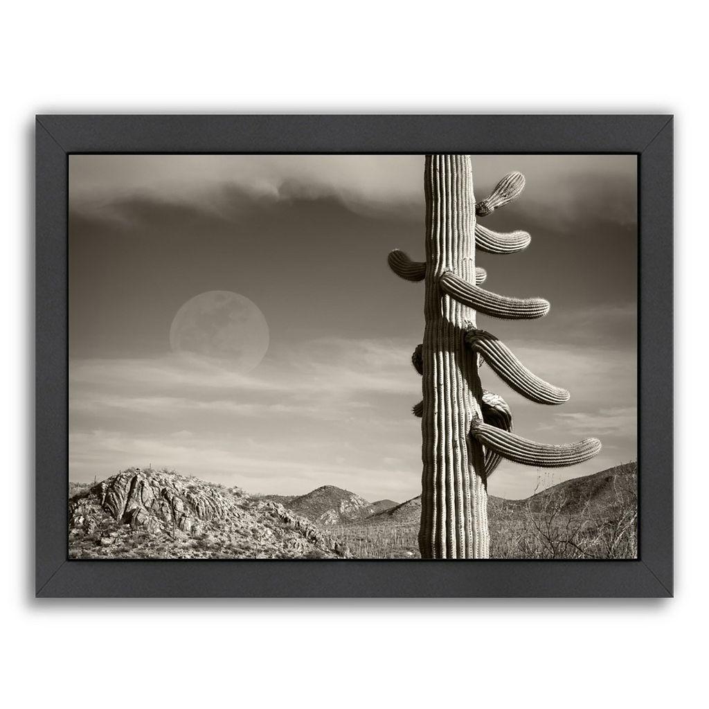 Americanflat ''Desert Moon'' Framed Wall Art