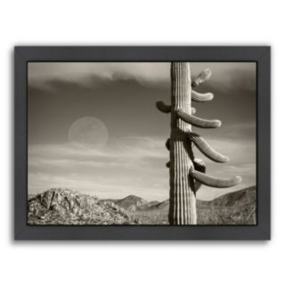 Americanflat ''Desert Moon'' Framed Wall Art