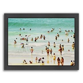 Americanflat ''French Beach'' Framed Wall Art