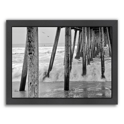 americanflat 39 39 imperial beach pier 1 39 39 framed wall art. Black Bedroom Furniture Sets. Home Design Ideas