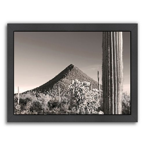 Americanflat ''Malpais Hill'' Framed Wall Art