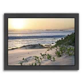 Americanflat ''Pacific Ocean Seascape 5'' Framed Wall Art