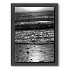 Americanflat ''Pacific Ocean Seascape 22'' Framed Wall Art