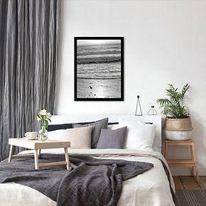 Americanflat ''Pacific Ocean Seascape 22'' Framed Wall Art