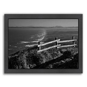 Americanflat ''Pacific Ocean Seascape 51'' Framed Wall Art