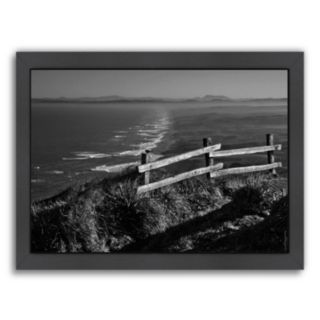 Americanflat ''Pacific Ocean Seascape 51'' Framed Wall Art