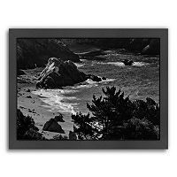 Americanflat ''Pacific Ocean Seascape 52'' Framed Wall Art