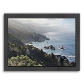 Americanflat ''Pacific Ocean Seascape 55'' Framed Wall Art