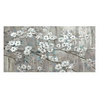 Stillness Floral Canvas Wall Art