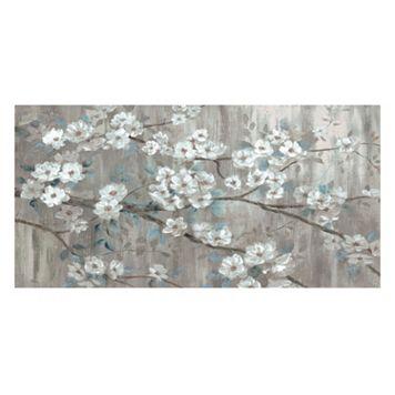 Stillness Floral Canvas Wall Art