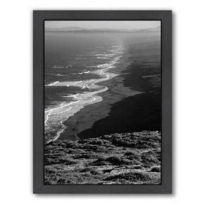 Americanflat ''Pacific Ocean Seascape 59'' Framed Wall Art