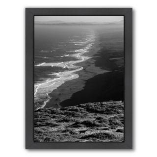 Americanflat ''Pacific Ocean Seascape 59'' Framed Wall Art