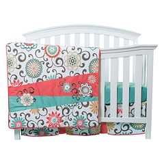 Waverly Baby by Trend Lab Pom Pom Floral 4-pc. Crib Bedding Set by Trend Lab