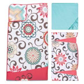 Waverly Baby by Trend Lab Pom Pom Floral 4-pc. Crib Bedding Set by Trend Lab