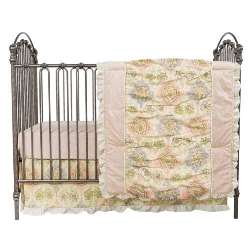 Waverly Baby by Trend Lab Rosewater Glam 3-pc. Crib Bedding Set by Trend Lab