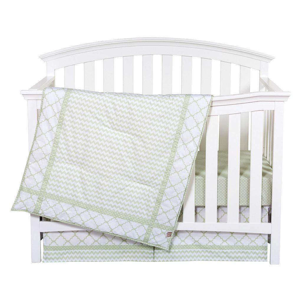 Trend Lab Sea Foam 3-pc. Crib Bedding Set