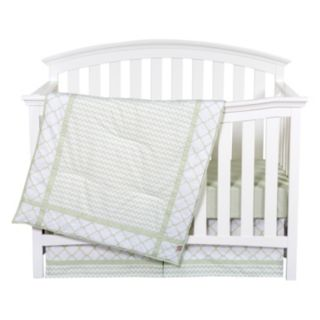 Trend Lab Sea Foam 3-pc. Crib Bedding Set