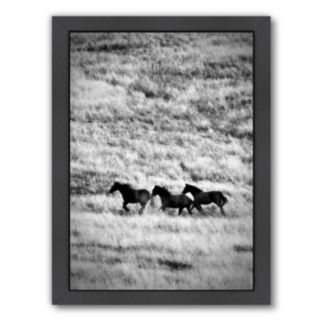 Americanflat ''Ranchland 4'' Framed Wall Art