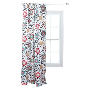 Waverly Baby Pom Pom Floral Window Panel by Trend Lab