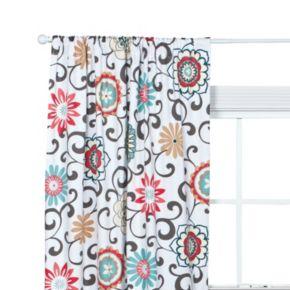 Waverly Baby Pom Pom Floral Window Panel by Trend Lab