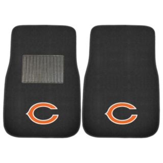 FANMATS Chicago Bears 2-Piece Car Floor Mat Set