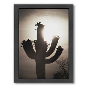 Americanflat ''Saguaro Sunrise 10'' Framed Wall Art