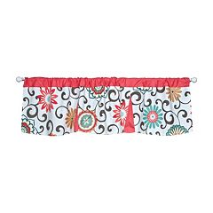 Waverly Baby Pom Pom Floral Window Valance by Trend Lab