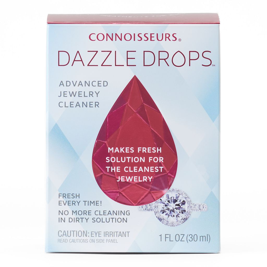 Connoisseurs Dazzle Drops Advanced Jewelry Cleaner