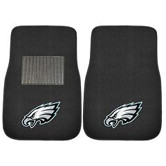 FANMATS Philadelphia Eagles 2-Piece Car Floor Mat Set
