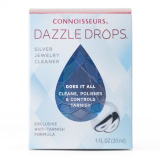 Connoisseurs Dazzle Drops Silver Jewelry Cleansing Formula