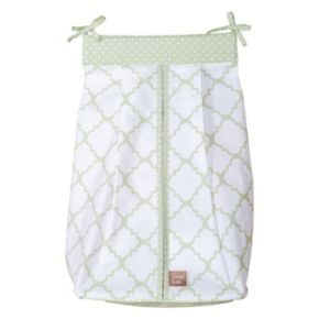 Trend Lab Sea Foam Quatrefoil Diaper Stacker