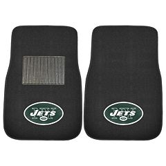 FANMATS New York Jets 2 pc Car Floor Mat Set