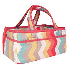 Waverly Baby by Trend Lab Pom Pom Chevron Storage Caddy by Trend Lab