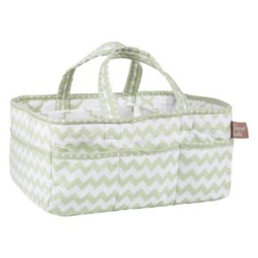 Trend Lab Sea Foam Chevron Storage Caddy