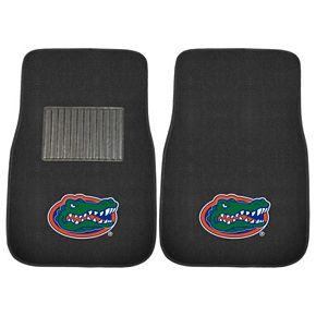 FANMATS Florida Gators 2-Piece Car Floor Mat Set