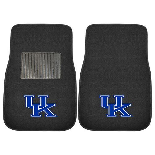 FANMATS Kentucky Wildcats 2-Piece Car Floor Mat Set