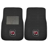 FANMATS South Carolina Gamecocks 2-Piece Car Floor Mat Set