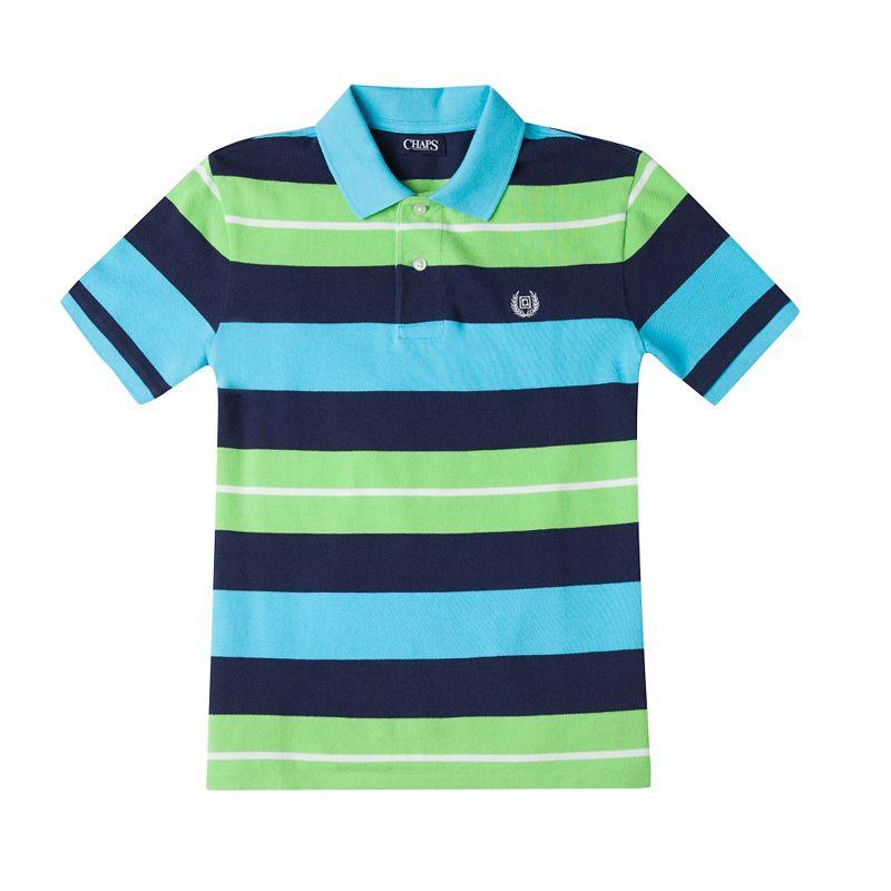 Boys 8-20 Chaps Multi-Striped Polo