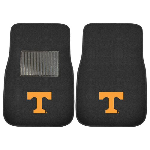 FANMATS Tennessee Volunteers 2-Piece Car Floor Mat Set